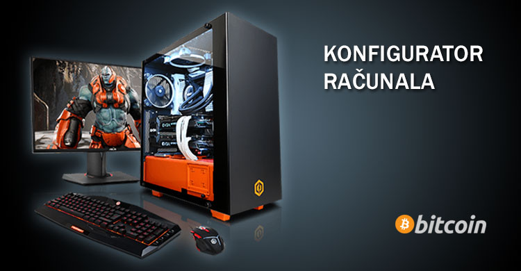 Konfigurator PC-a i plaćanje Bitcoinom u PC shopu