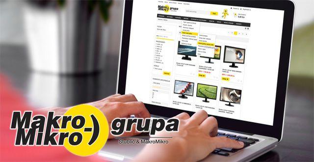 Makromikro grupa web shop by VSC Pro+